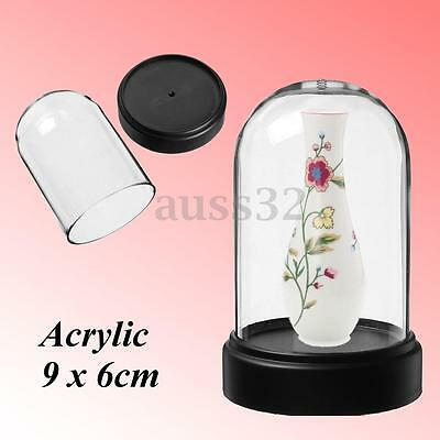 "Acrylic Clear Box Bell For Product Show Display Case Toys Dustproof 2.3""x3.5"""