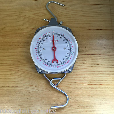 Lineaeffe 50kg 110lb Specimen Weigh Scales Carp Fishing Weighing Dial Scale