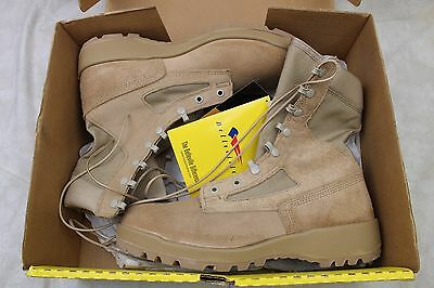 New Belleville Genuine Us Army Tan Desert Combat Boots Hot Weather 8.5 8 1/2R
