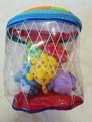 Discovery Channel Baby Toddler Basketball Toy Set, Animals in Bag, Developmental