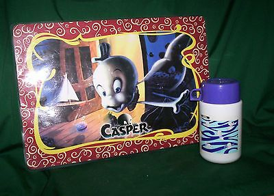 Casper Plastic Placemat & Collectible Thermos