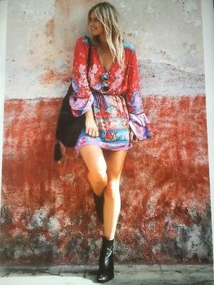 Spell And The Gypsy Collective Lotus Play Dress Size XL