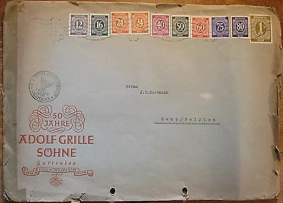 Germany: 1946 to modern collection of Envelopes & Postcards.