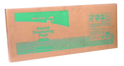 Sound Deadening Pads X10 200mm SDP200 Tetrosyl Genuine Top Quality New