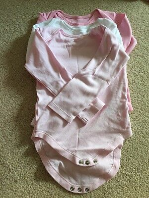Baby Girl Long Sleeved Vests 18-24 Months