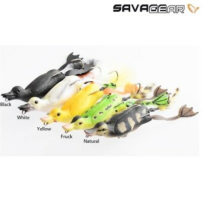 Savage Gear Fruck 3D Hollow Duck Pike Predator Weedless Fishing Lures