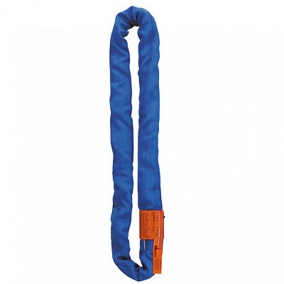 Lift-All Tuflex 20ftPolyester Round Slings - Blue - Vertical Capacity 12200 lbs