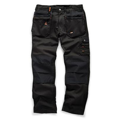 Scruffs Worker Plus Trade Trousers Cargo Multiple Pockets Hardwearing Work Pants