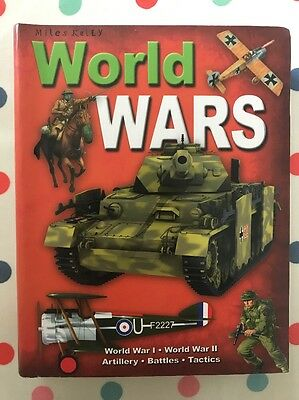 WORLD WARS BOOK by MILES KELLY
