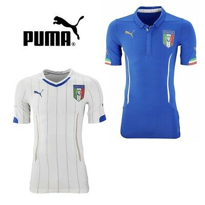 Italy Home Away Puma Football Shirt Mens Official Team Player Jersey Shirts NEW