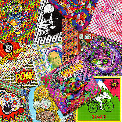 TEN BLOTTERS WHOLESALE PRICE YOUR CHOICE BLOTTER ART  Acid Free art