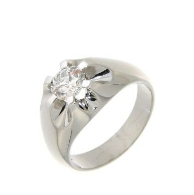 Jewelery SOLITAIRE WHITE GOLD & DIAMOND RING