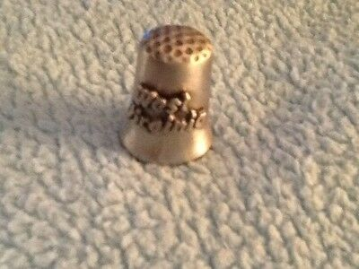 WEST VIRGINIA Thimble Collectible Pewter