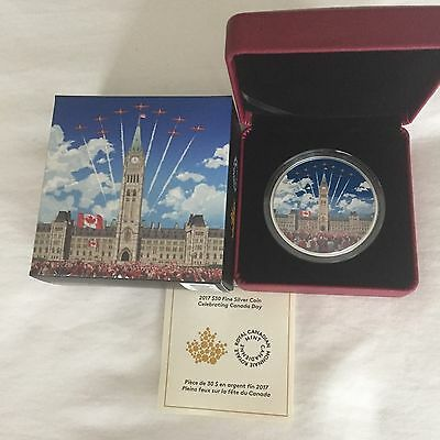 2 oz. Pure Silver Glow-in-the-Dark Coin - Celebrating Canada - Mintage: 5,000