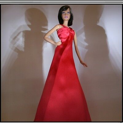 New On The Red Carpet Barbie Long Red Gown For The Adult Collector, Mattel...RFB