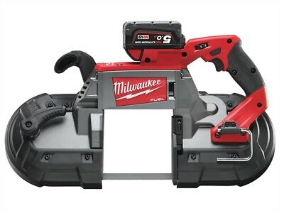 Milwaukee M18 CBS125-502C FUEL™ Deep Cut Bandsaw 18 Volt 2 x 5.0Ah Li-Ion
