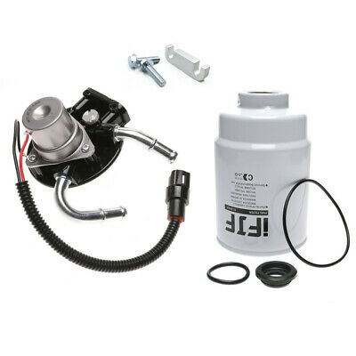 for chevrolet 6 6l fuel filter with pump,heater,2 bolts-duramax engine