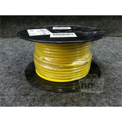 Imperial 71390-1 Crosslink Wire/Cable, 10AWG, 100ft Spool, STR, Yellow