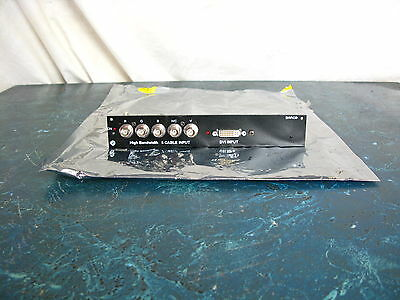 Barco Slm R12 Performer High Bandwidth 5 Cable & Dvi Input Board Only