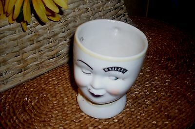 Winking Bailey's womans Face Coffee Mug Tea Cup 1997 Limited Edition Yum