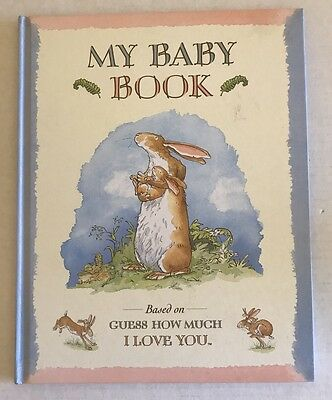 My Baby Book Guess How Much I Love You Sam McBratney HB 1996 Unused