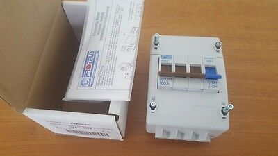 Brand  New 100A ISOLATOR SWITCHES.  3 PHASE 4 POLE