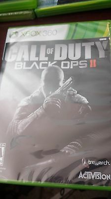 Call Of Duty Black Ops II , Factory Sealed For Xbox 360.