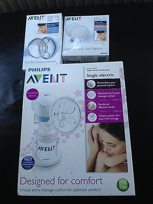 Philips Avent Single Electric Breast Pump With Accessories