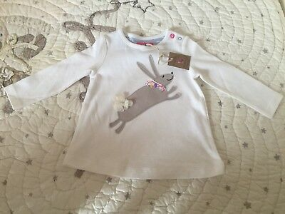 Joules Baby Girl 6-9 Months Top BNWT