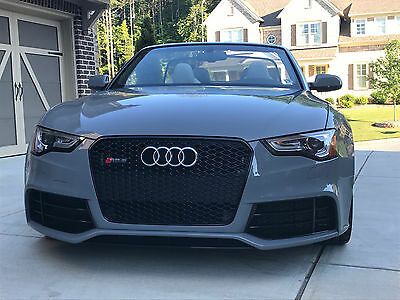 2014 Audi RS5 2 Door Convertible 2014 Audi RS5 Quattro Convertible 2-Door 4.2L *RARE* EXCELLENT COND* LOW MILEAGE