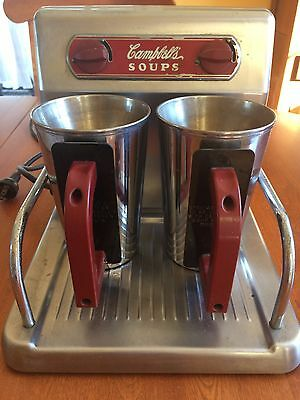 Vintage Campbell's Two Cup Soup Warmer