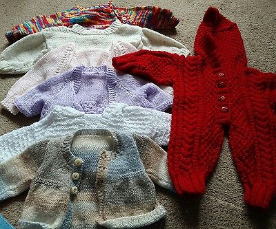 Beautiful knitted bundle for 0-6 month baby