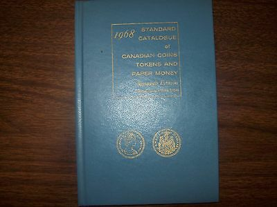 1968 Standard Catalogue of Canadian Coins, Tokens & Paper Money, 16th Ed. NEW!!!