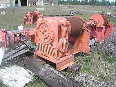 Thern Winch Double Drum