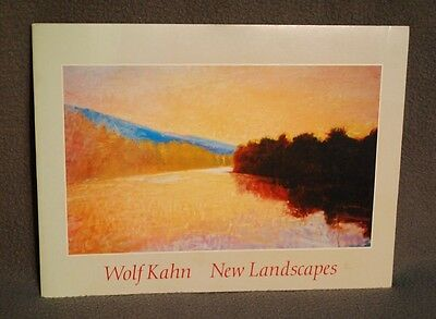 Wolf Kahn : New Landscapes, 1988 Exhibition Catalogue, Gerald Peters Gallery