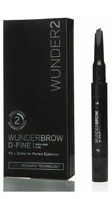 WUNDERBROW D-Fine  Eyebrows Brow Liner Define Thicken & Fill for Black/Brown