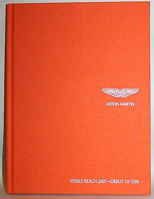Aston Martin DBS Pebble Beach 2007 Concours d'Elegance Original Press Brochure