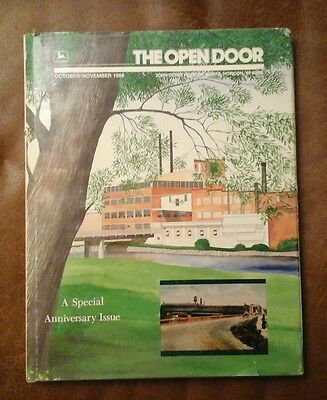 THE OPEN DOOR JOHN DEERE 1986 ANVERSERY BOOK Horicon Works history