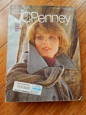 Vintage 1977 JCPenney Fall Winter Department Store Catalog Book