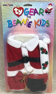 Ty Gear for Beanie Kids Santa Claus Outfit Christmas New