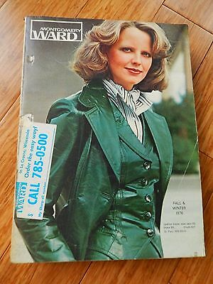 Vintage 1976 Montgomery Ward Fall & Winter Department Store Catalog Book