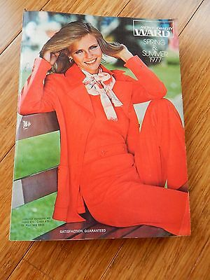 Vintage 1977 Montgomery Ward Spring & Summer Department Store Catalog Book
