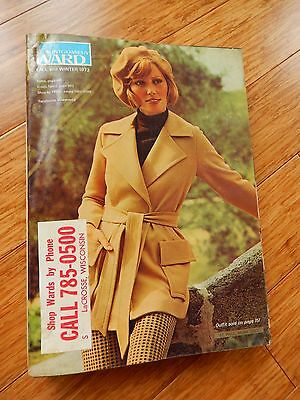 Vintage 1973 Montgomery Ward Fall Winter Department Store Catalog Book