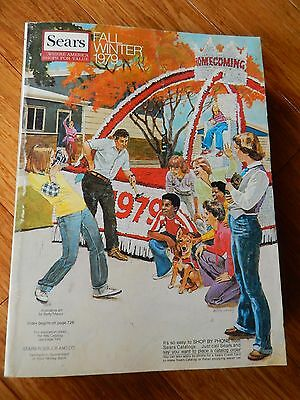 Vintage 1979 SEARS Fall Winter Department Store Catalog Book