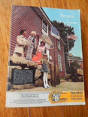 Vintage 1976 SEARS Spring Summer Department Store Catalog Book