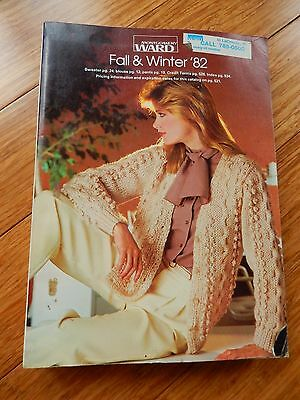 Vintage 1982 Montgomery Ward Fall Winter Department Store Catalog Book