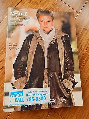 Vintage 1978 Montgomery Ward Fall Winter Department Store Catalog Book