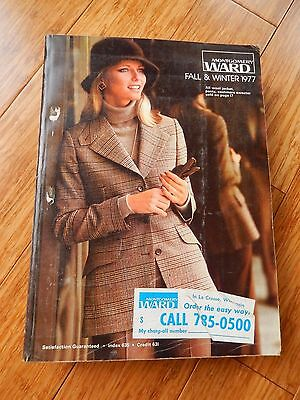 Vintage 1977 Montgomery Ward Fall Winter Department Store Catalog Book