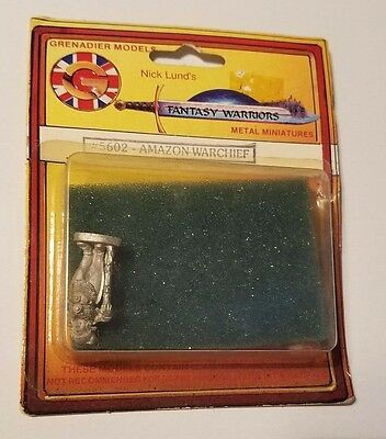 Mirliton SG Grenadier 25mm Amazon Warchief Pack SEALED ON CARD NEW