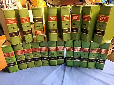 Washington Appellate Reports Vol.1-36 and 122-137 Law Books '''51 books'''